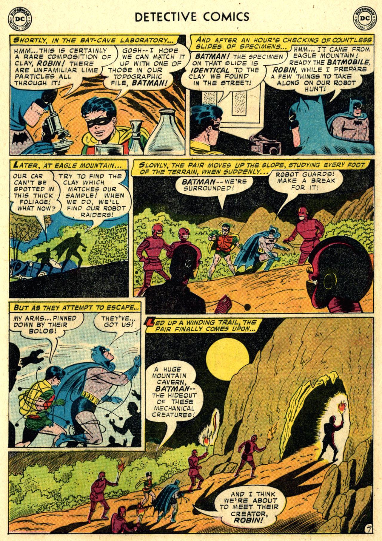 Read online Detective Comics (1937) comic -  Issue #258 - 9