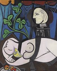 """""""Nude, Green Leaves and Bust"""", Pablo Picasso"""