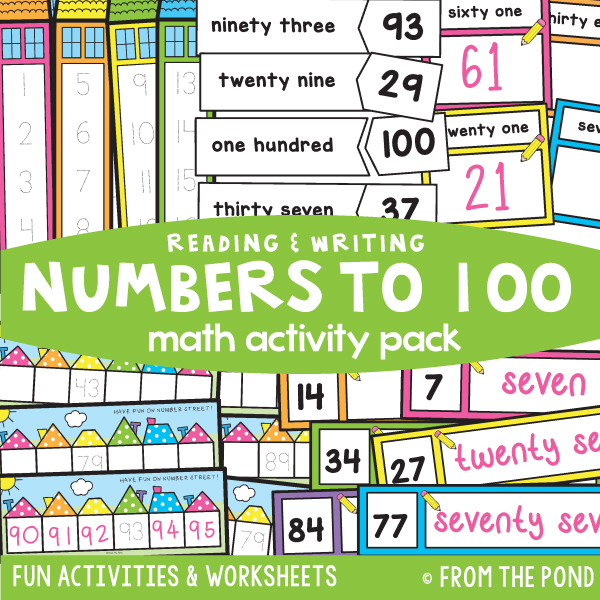 Reading and Writing Numbers to 100
