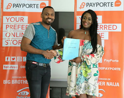 #BBNaija: Payporte signs Uriel as fashion ambassador