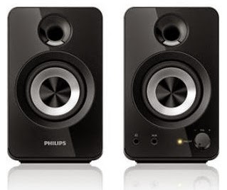 Unbelievable Price: Philips Multimedia Speakers 2.0 Headphone Out Audio In 12w Spa1260/12 worth Rs.2499 for Rs.800 Only @ Rediff