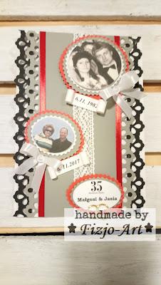 Karta wczoraj i dziś – czyli 35 rocznica ślubu