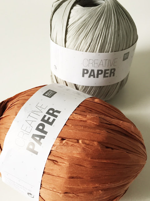 creative paper, Gehaakt/ crochet, haken, mand, papieren mand, Cross and Woods, Rico, Studio Mojo,