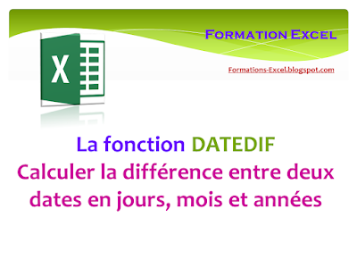 Fonction DATEDIF