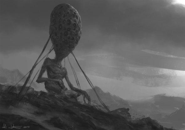 Veli Nyström artstation deviantart arte ilustrações fantasia ficção científica games