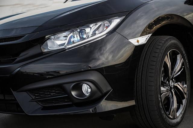 Novo Honda Civic Sport (versão de acesso) 2017