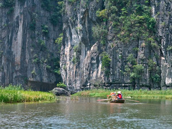 Tam Coc en la provincia de Ninh Binh