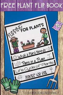 Plant Activities Plant Life Cycle and Parts of a Plant Flip Book