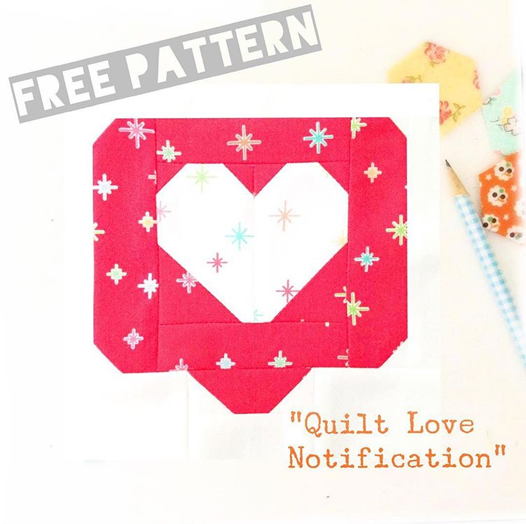 Quilt Love Notification Pattern