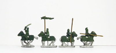 Cataphracts, armoured x 4: