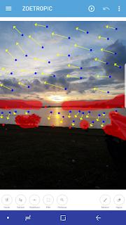 Cara membuat foto gambar latar belakang bergerak