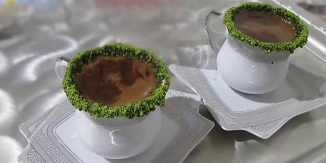 kahve süsleme yöntemi,