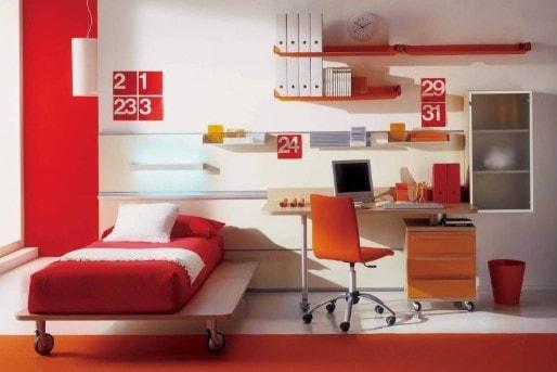 Contoh Desain Kamar Tidur Ukuran 2x3 Minimalis 2019