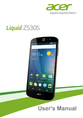 Acer Liquid Z530S Manual Cover