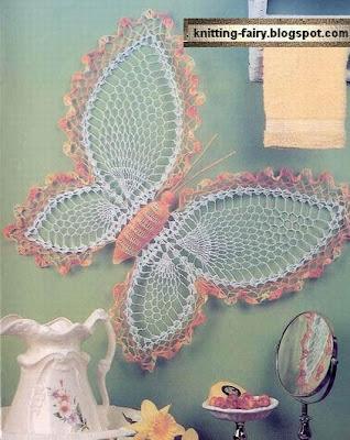 Speciale Moda Donna Primavera Estate Farfalle Ad Uncinetto Schema
