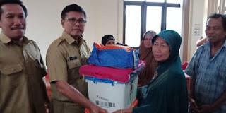 Pemerintah Daerah Kota Cirebon Salurkan Bantuan Untuk Korban Banjir.