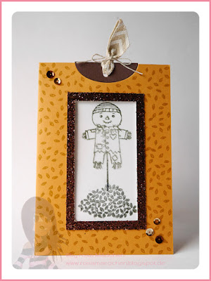 Stampin' Up! rosa Mädchen Kulmbach: Stamp A(r)ttack Blog Hop Bring Farbe ins Spiel: Magic Card mit Cookie-Cutter Halloween