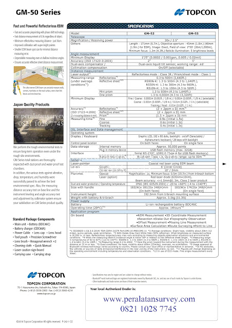 TOPCON GM-52 || GM-55 || GM-105 Di peralatansurvey.com pdf