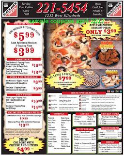 Black Jack Pizza coupons april 2017