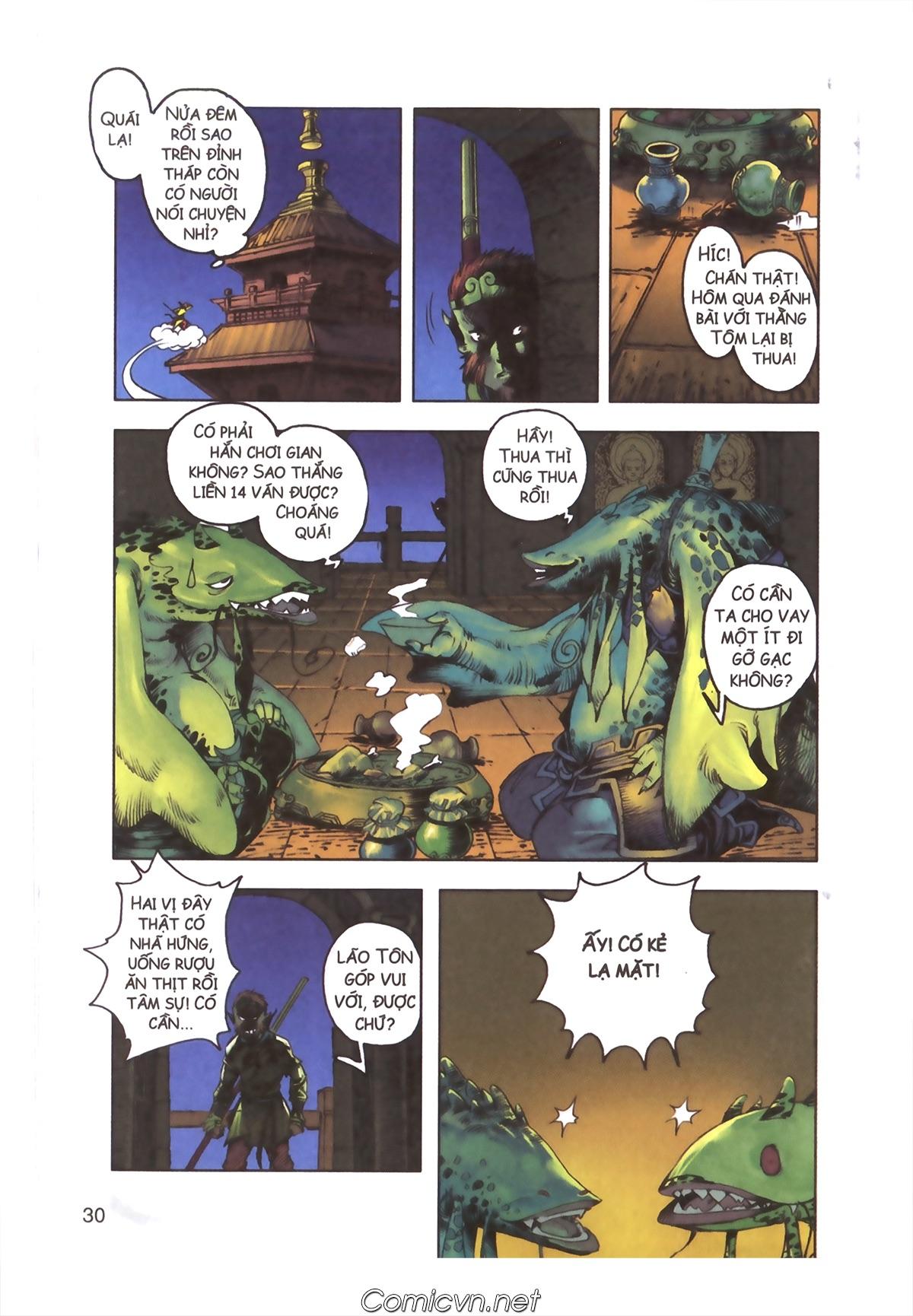 Tây Du Ký màu - Chapter 110 - Pic 28