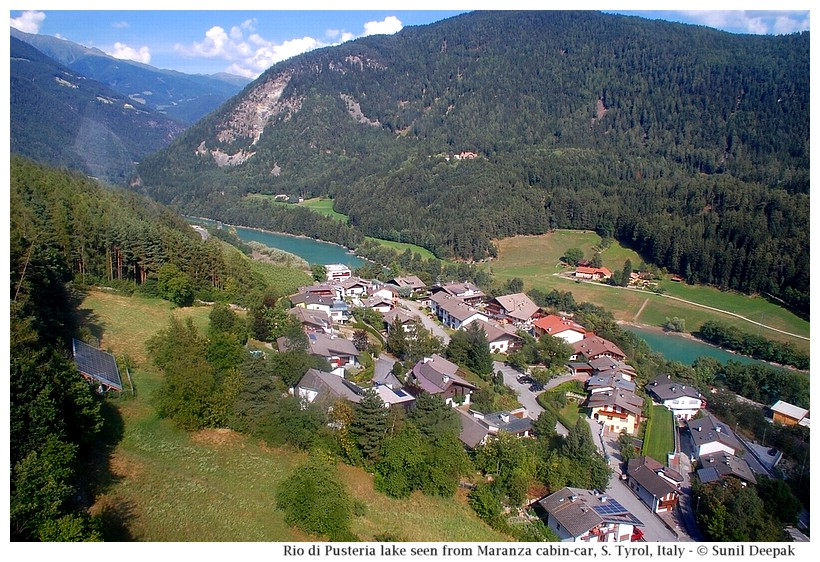 A view of Rio di Pusteria, Alto Adige, Italy - Images by Sunil Deepak