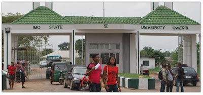 Imo State University 2018/2019 Admission List is Out