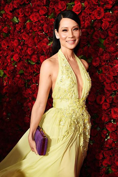 Lucy Liu Red Carpet 2016 Tony Awards