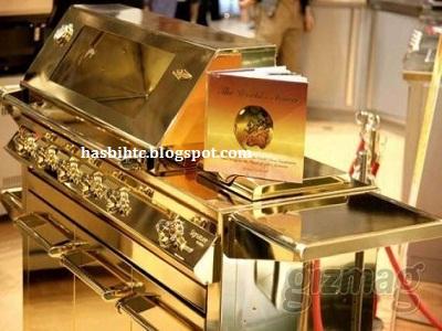 Panggangan Barbeque Emas
