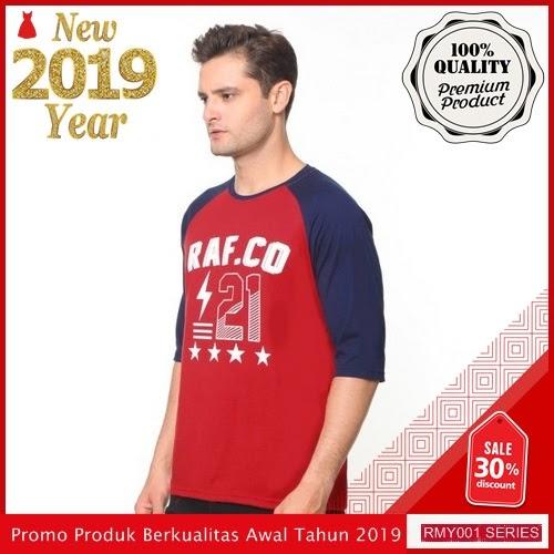 RMY107R41 Raf Kaos Kaos Raglan Keren Rafco Merah BMGShop