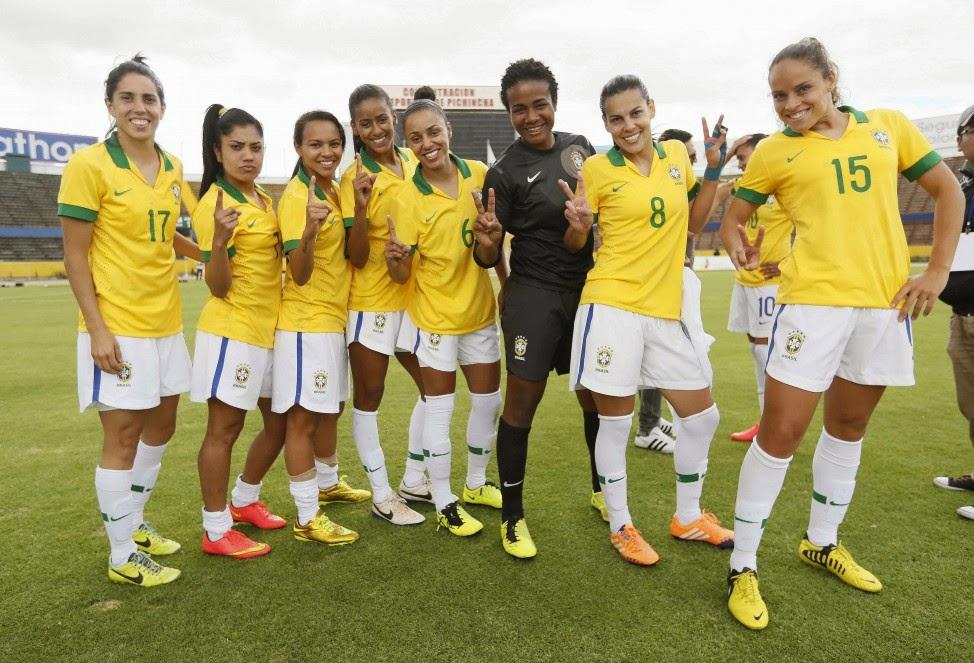 1c408c12fe72b Exclusive news the best goal  Seleção Feminina é hexacampeã  1991 ...