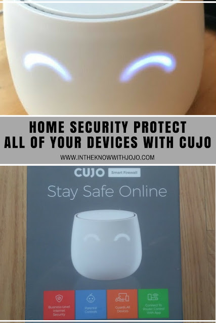 Make your gadgets safe with this stylish home security Cujo.