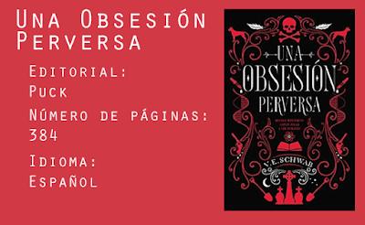 Una Obsesión Perversa. Editorial Puck. 384 páginas. Español.