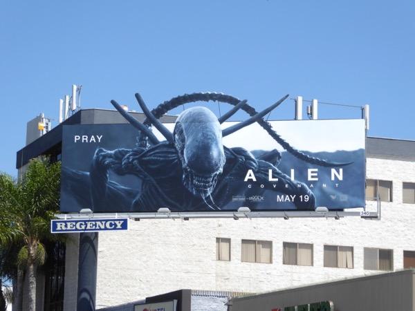 Alien Covenant extension billboard