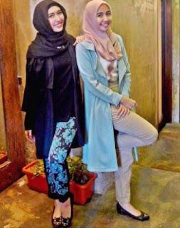 10 Contoh Baju Hijab Terbaru Gaya Laudya Chintya Bella Model Baju Busana Muslim Terbaru