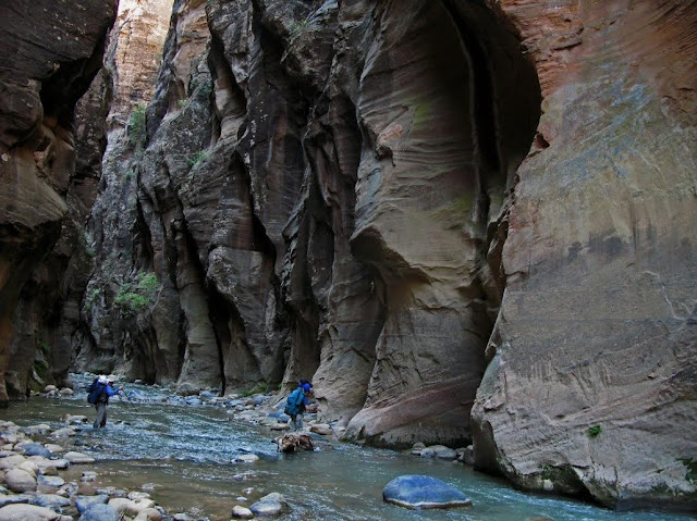 Take a Hike - 7 of the Grandest Adventures in the Southwest, Hiking the Zion Narrows