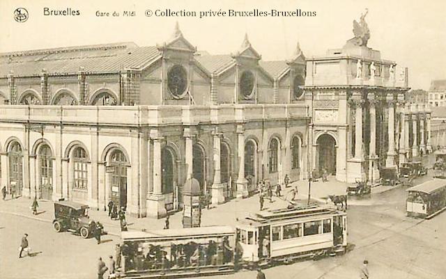 Gare du Midi - 1869-1949 - Bruxelles disparu -  Bruxelles-Bruxellons