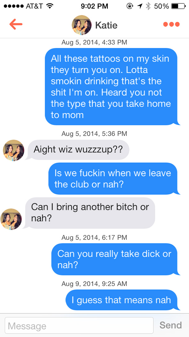 best tinder pick up line