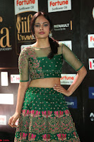 Nandita Swetha in a tight Green Choli Ghagra at IIFA Utsavam Awards March 2017 ~ 072.JPG