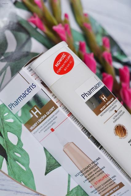 szampony pharmaceris, peeling pharmaceris