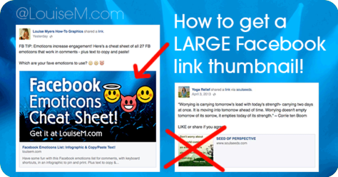 Get Large Facebook Link Thumbnail