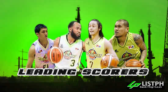 List of Leading Scorers GlobalPort Batang Pier 2017 PBA Commissioner's Cup