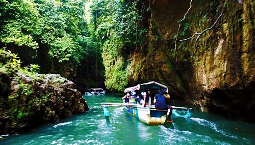 Cukang Taneuh Ciamis Remarkable Canyon in Indonesia