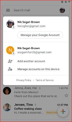 Delete Self: Delete GMail Account