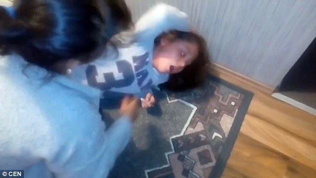 Bizarre Video Claims To Show Exorcism Of 11-year-old gypsy Girl