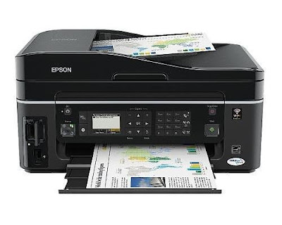 scan in addition to fax all your concern documents Epson Stylus Office BX610FW Driver Downloads