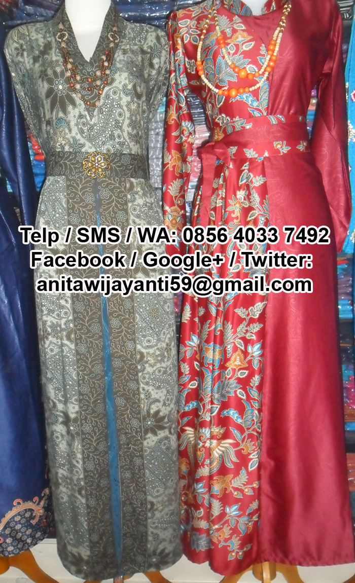 Baju Couple Pasangan Batik Gamis Halus Murah Beli  03 Written By Anita Wijayanti On Kamis Maret 2016 204000
