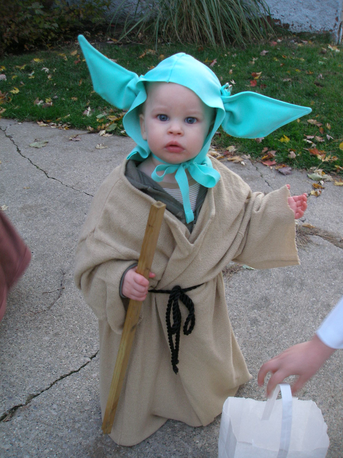 DIY Star Wars Costumes (Baby Yoda Princess Leia Mace Windu and an Ewok)  sc 1 st  Super Savings & Super Savings: DIY Star Wars Costumes (Baby Yoda Princess Leia ...