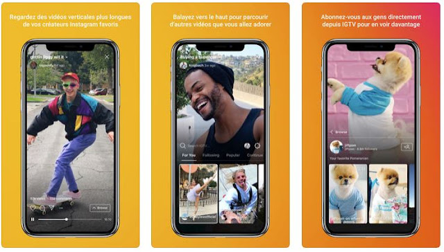 L'appli IGTV d'Instagram s'attaque à YouTube