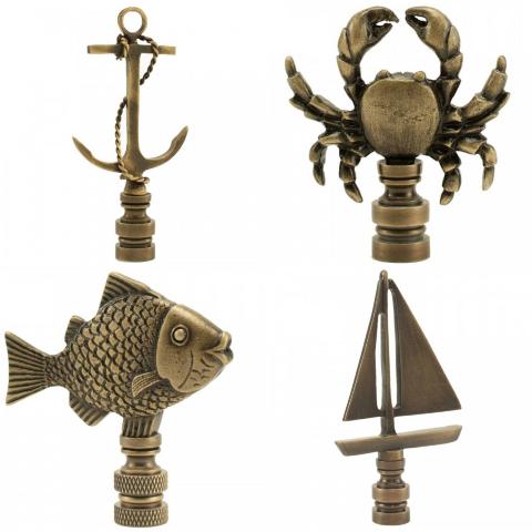 Nautical Lamp Finials