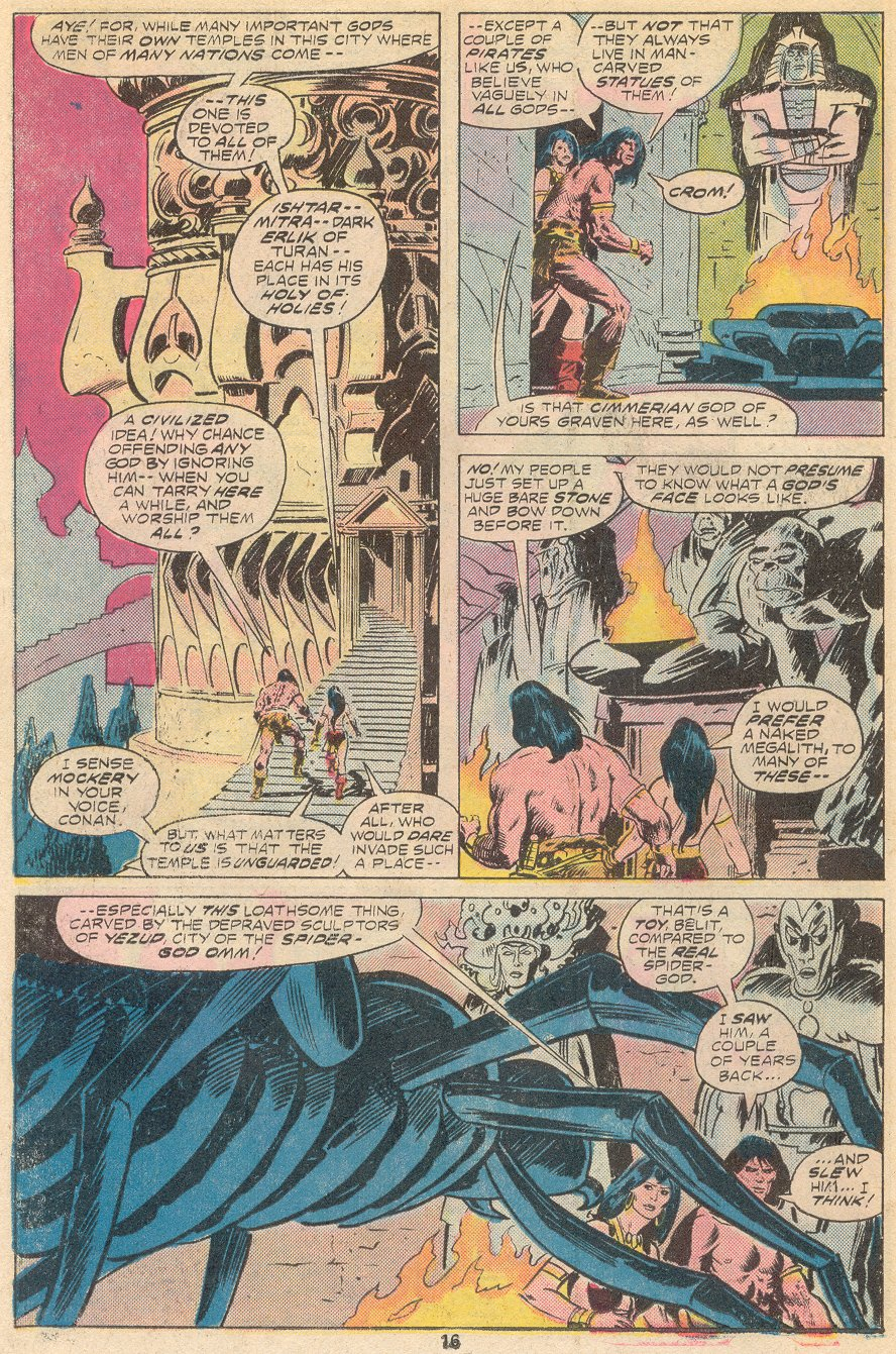 Conan the Barbarian (1970) Issue #66 #78 - English 11